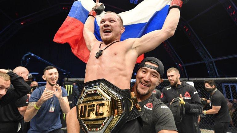 Первый после Хабиба. Ян— новый чемпион UFC изРоссии
