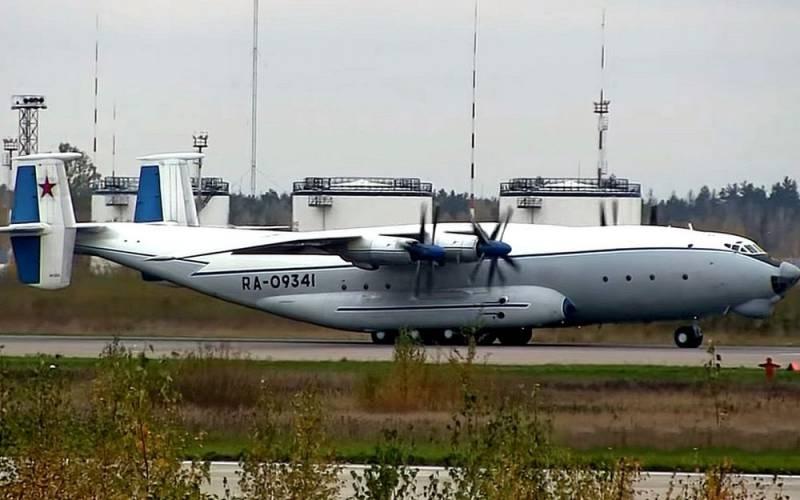 Военно-транспортный Ан-22 «Антей» нанёс редкий визит в Сирию