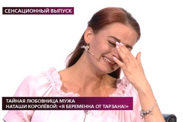 Любовница Сергея Глушко сделала тест на беременность в эфире телешоу: результаты