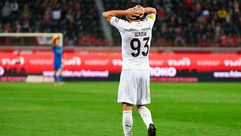 Шапи: «0+0» в2020 году за «Краснодар». Почему онперестал забивать?