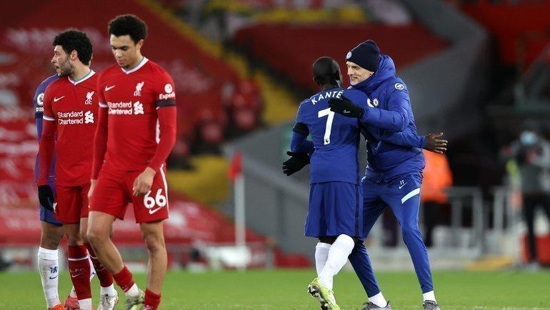 Тухель оставит Клоппа без Лиги чемпионов. «Ливерпуль» проиграл на «Энфилде» пять раз подряд