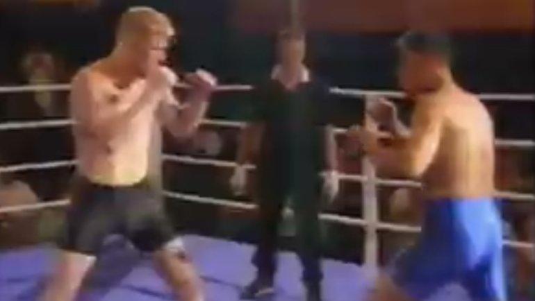 «Победил сосломанной рукой, после турнира потерял сознание отголода». Как Харитонов бился наголых кулаках в19 лет