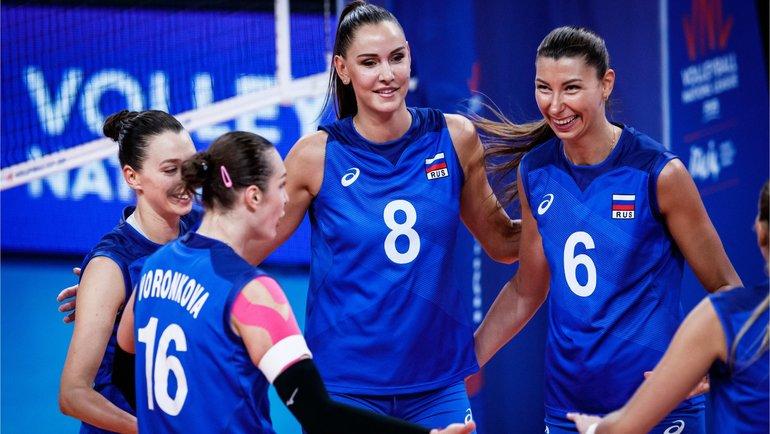 Россиянки зарубились спервой командой мира. Надо было дожимать третий сет при 22:19