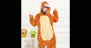 Обзор пижамы кигуруми Тигра