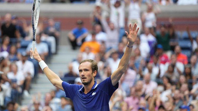 Мыждали этого 16 лет! Столькоже эйсов вфинале сделал Медведев… Рабинер— отриумфе россиянина втурнире «Большого шлема»