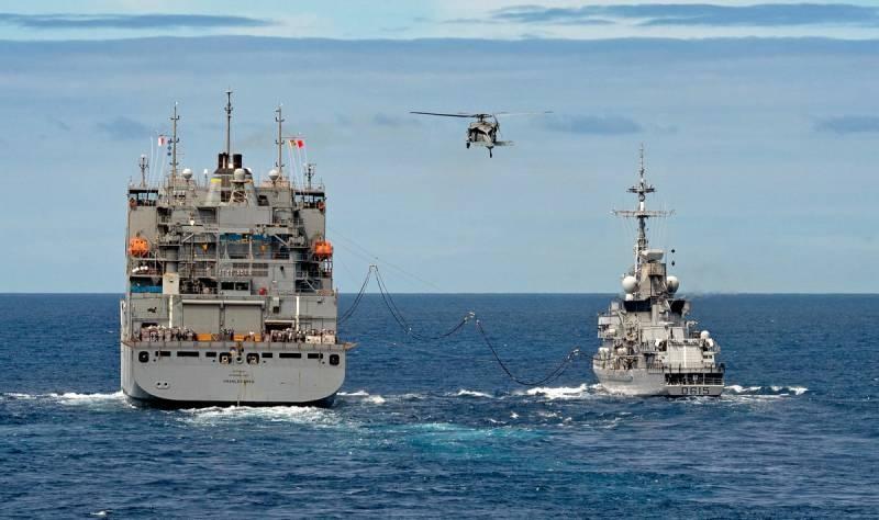 Франция бойкотировала миссию НАТО у берегов Ливии после инцидента с кораблями Турции