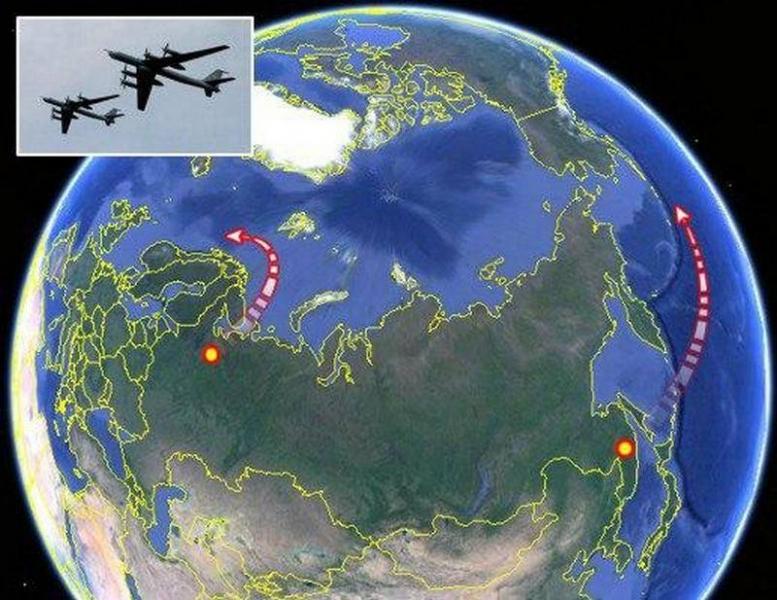 Греческие СМИ: Появление сразу семи Ту-142 удивило флот США