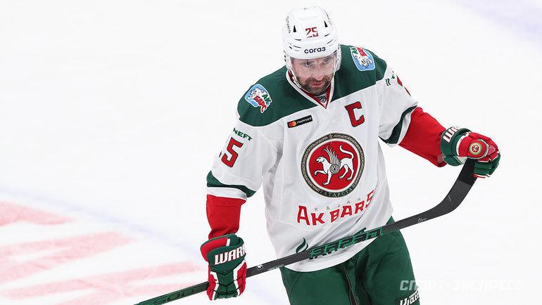 Легенда КХЛ Зарипов решил продолжить карьеру. Вмарте ему пошел пятый десяток