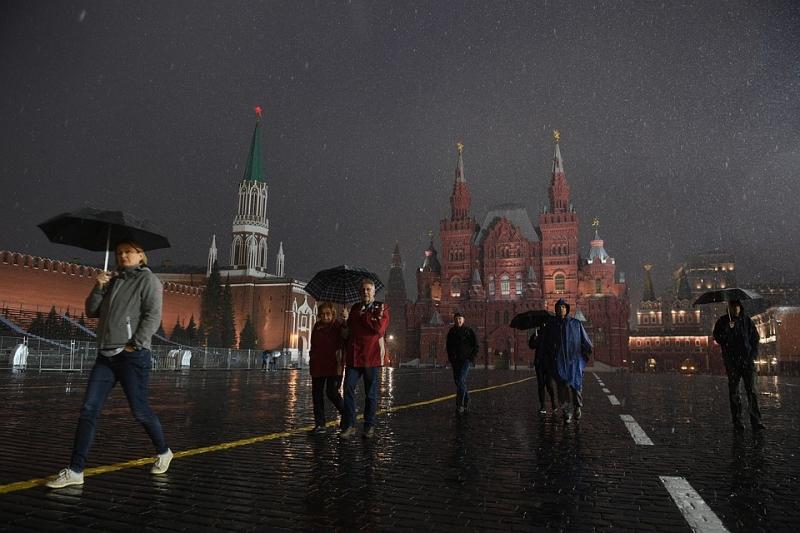 Осадки в Москве и Московской области в конце мая будут рекордными